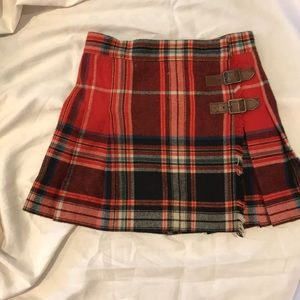 Girls Ralph Lauren wool and cashmere kilt